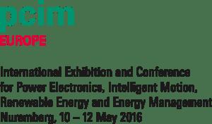 Fairs PCIM 2016 logo